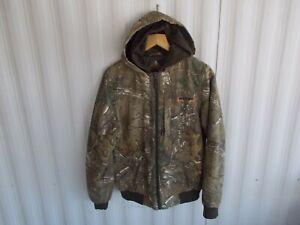 Boys sz XL Hunting Jacket ~ REALTREE XTRA Camo ~ size XL ~ Insulated/Hooded Coat