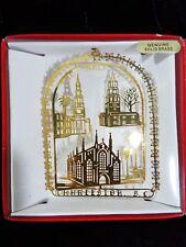 Charleston Ornament SC Holy City St Philips St Michaels Huguenot Chuches