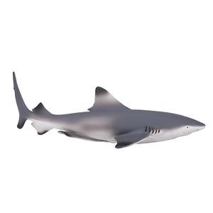 Mojo BLACK TIP REEF SHARK plastic animal sea toy figure model figurine fish bath