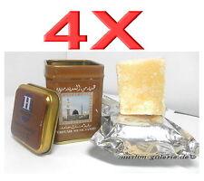 4X Original HEMANI Musk Jamid Misk Duftstein Alkoholfrei *Arabische Parfüm Amber