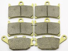 Front Rear Brake Pads For Yamaha YZF R6 T/V/W 310MM Rotor 2005 2006 2007 Brakes