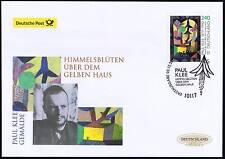 BRD 2015: Paul-Klee-Gemälde! Post-FDC der Nr. 3195 mit Berliner Stempel! 1704