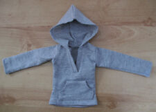1/4 MSD Boy BJD Doll Grey Hooded Top