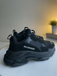 Balenciaga Triple S Size 5 EU38 in Black