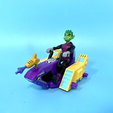 Bandai Teen Titans Go! Battle Machines Starfire Vehicle w Beast Boy Figure Lot