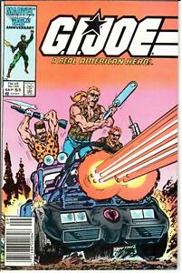 GI Joe ARAH (1982 Series) #51 Newsstand September 1986 Marvel VF- 7.5