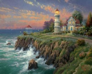 Victorian Light by Thomas Kinkade    From the Seaside Memories Collection.