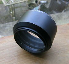 genuine  miranda  lens hood 55mm screw in for 135mm  F2.8