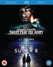 SHUTTER ISLAND / SUPER 8 - BLU-RAY - REGION B UK