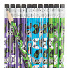 Pack of 12 - Gamer Pencils with Erasers - Video Game Party Bag Fillers