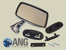 JAGUAR E-TYPE SERIES III 5.3 V12 '71-'75 RIGHT HAND STAINLESS STEEL DOOR MIRROR