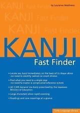 USED (LN) Kanji Fast Finder by Laurence Matthews