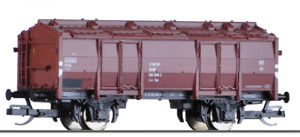 Tillig 14713 / Spur TT / Klappdeckelwagen T-v der DR, Ep.IV in OVP // NEU