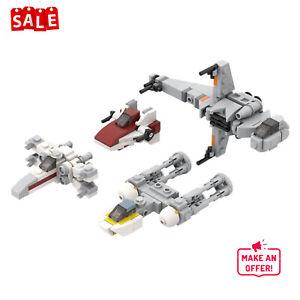 Building Blocks Micro Rebel Starfighters MOC-32286 221 PCS Bricks for Star Wars