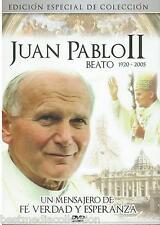Juan Pablo II Beato DVD NEW 1920-2005 Un Mensajero De Verdad Esperanza SEALED