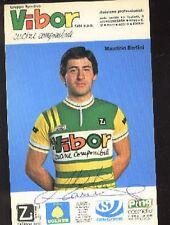 MAURIZIO BERTINI cp Signée cyclisme ciclismo VIBOR COLNER Autographe Cycling