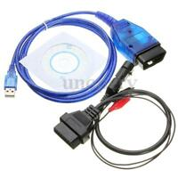 3 Pin OBD 2 Version VAG 409 KKL USB + Ecu Scanner Diagnostic Interface For Fiat