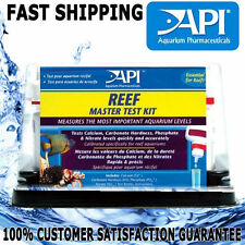 API Aquarium Fish Tank Master Reef Salt Test Kit Calcium KH Phosphate Nitrate