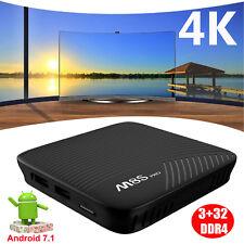 M8S PRO 3+32GB S912 Octa core Android 7.1 Nougat Dual WIFI 4K H.265 Smart TV BOX