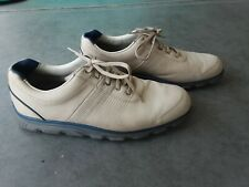 New listing FootJoy Dryjoys Tour Golf Shoes Mens 11M 53514 Tan Leather Excellent Condition