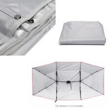 4X2.1M Car Waterproof Anti-UV Replaceable Oxford Cloth Umbrella Tent Roof Cover