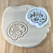 Brain - Cookie Cutter - Biscuit - Fondant - Clay - Dough