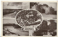 Sussex Postcard - Views of Arundel    D584