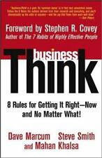 businessThink: Rules for Getting It Right--Now