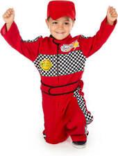 Niños Niño Piloto Carreras Mono Disfraz F1 Edad 2 3 4 5 6 7 Niña Niño