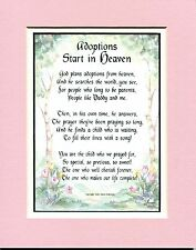 A Gift For An Adopted Daughter. #133a, An Adoption Present Poem