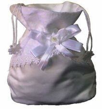 Bride or Bridesmaid Dilly Cosmetics Bag Satin & Lace