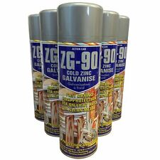 (PACK OF 3) Action Can ZG-90 Cold Zinc Galvanising Spray Paint 500ml