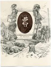 Galerie Contemporaine, Alphonse de Neuville (1835 - 1885), est un dessinateur et