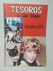 TESOROS DE WALT DISNEY #7 - THAT DARN CAT - COMIC ORIGINAL IN SPANISH  NO NOVARO