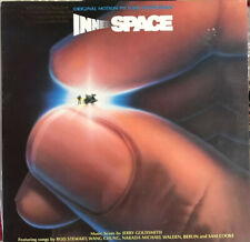 INNER SPACE OST Jerry Goldsmith Rod Stewart Berlin LP Excellent promo
