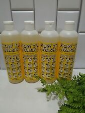 Lot Of 4 How to Wash Naturally Derived Hand Soap 12 oz ea Fresh Lemon🍋