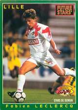 Fabien Leclercq AS Valence Lille OSC AS Cannes 1995 FOOTBALL MODERN CARD IMAGE