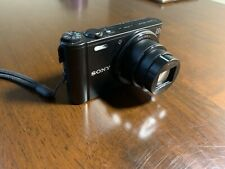 Sony Cyber-shot DSC-WX300 18.2MP Digital Camera - Black w Memory Card And Case!