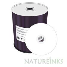 100 MediaRange DVD+R 16x 4.7GB 120min Printable Blank Discs in cakebox MR414