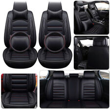 Luxury Car Seat Cover 5-Seats Front+Rear Cushion For Honda Accord/HRV/CITY/VEZEL