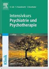 INTENSIVKURS PSYCHIATRIE UND PSYCHOTHERAPIE, UNBENUTZT
