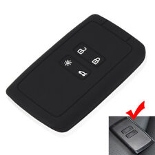 Black Silicone key cover case for Renault Koleos Kadjar 2016 2017 2018