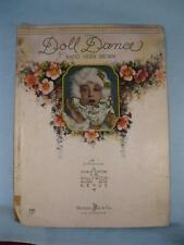 The Doll Dance What A Peculiar Tune Sheet Music Vintage 1927 Doris Eaton Brown O