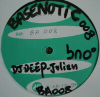 "RARE 12"" THE DEEP The Earth EP BASENOTIC 1997 DEEP HOUSE Test Pressing SHAZZ"