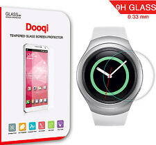 Dooqi Premium Ultra Clear Tempered Glass Screen Protector for Samsung Gear S2