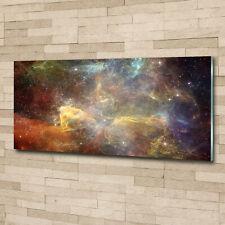 Wandbild aus Plexiglas® Druck auf Acryl 100x70 Kunst Weltall