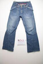 Levi's engineered 674 (Cod.B213) Tg.40 W26 L32 Donna jeans usato destroy