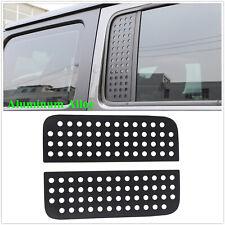 for Jeep Wrangler JL 2018 2019 2020 Rear Door Window Glass Strip Decals Stickers