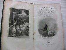 1842 HISTOIRE ROME JERUSALEM ORIENT JUIFS JEWS EGYPTE COUTUM GRAVURES LIVRE BOOK