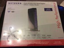 NETGEAR N600 WIRELESS DUAL BAND GIGABIT ADSL2+ MODEM ROUTER  BRAND NEW